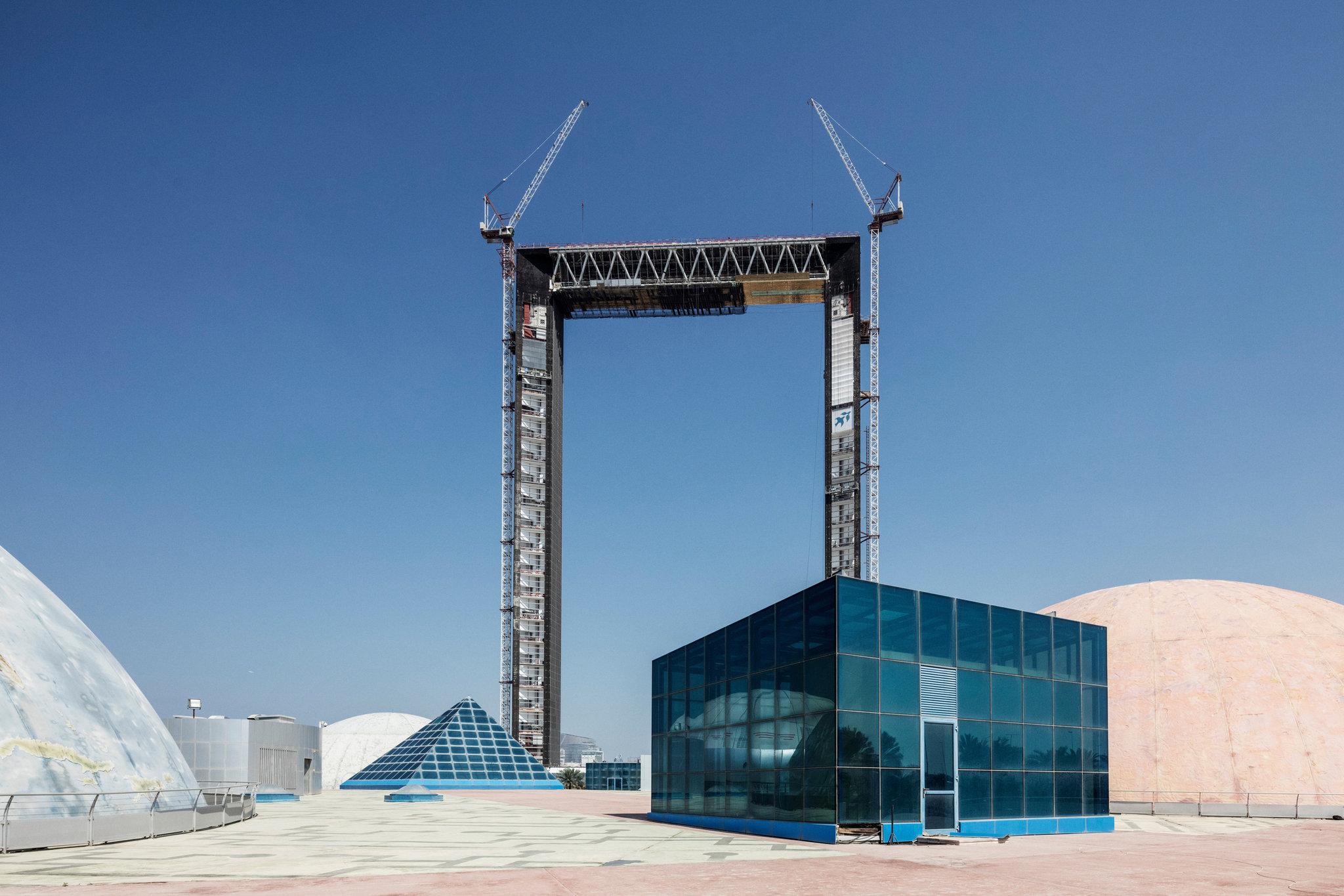 Εντυπωσιακό! Ουρανοξύστης στο Ντουμπάι θα μοιάζει με τεράστια κορνίζα! (photos)