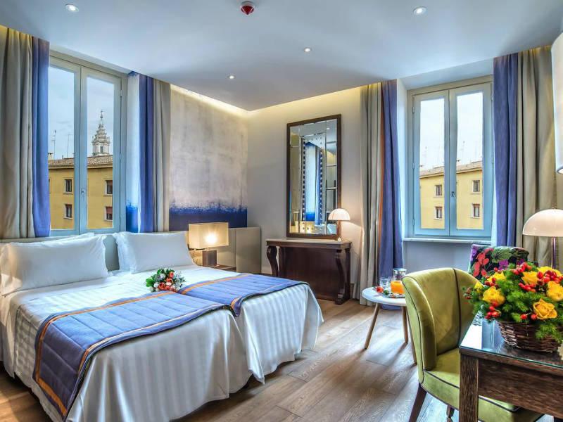Σας βρήκαμε ένα ατμοσφαιρικό ξενοδοχείο στην καρδιά της Ρώμης με εξαιρετική βαθμολογία στη booking 9,5!