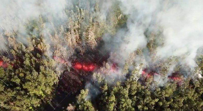 Συγκλονιστικές εικόνες από την έκρηξη του ηφαιστείου της Χαβάης! (photos&video)