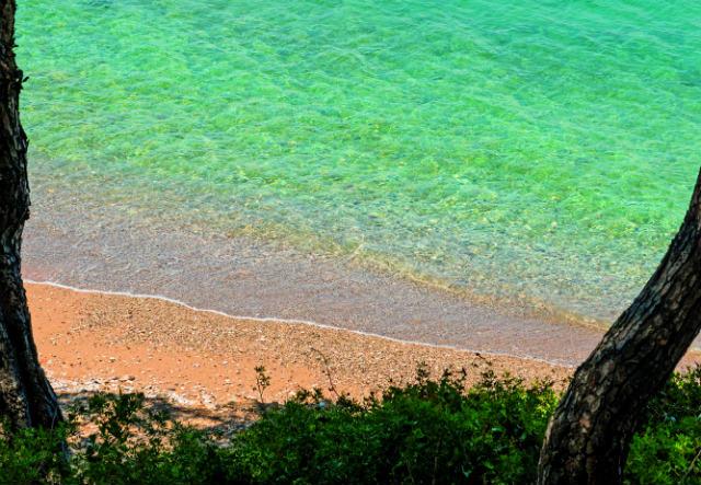 Λιγονέρι - παραλία Σπέτσες