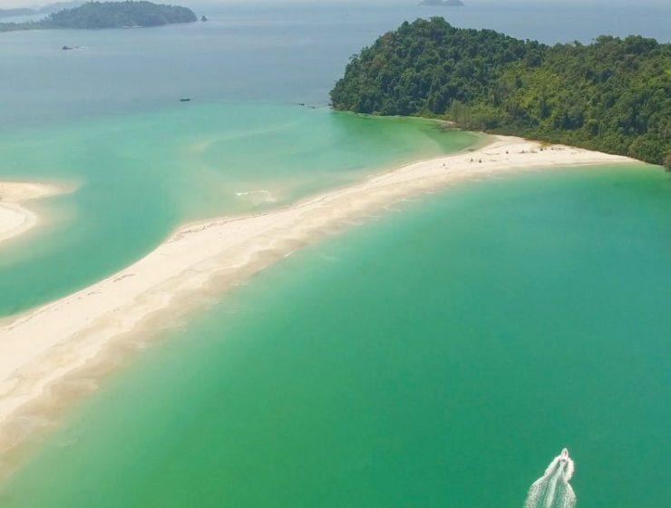 Myanmar νησιά