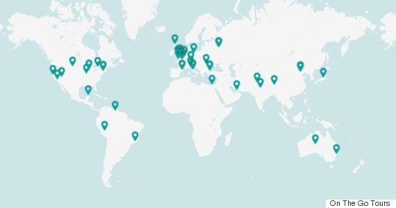 Αυτά είναι τα 10 πιο δημοφιλή μέρη του κόσμου σύμφωνα με το Instagram!