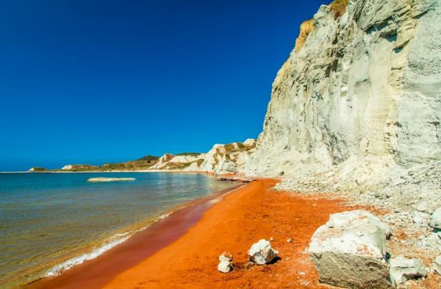 Πορτοκαλί παραλία Κεφαλονιά
