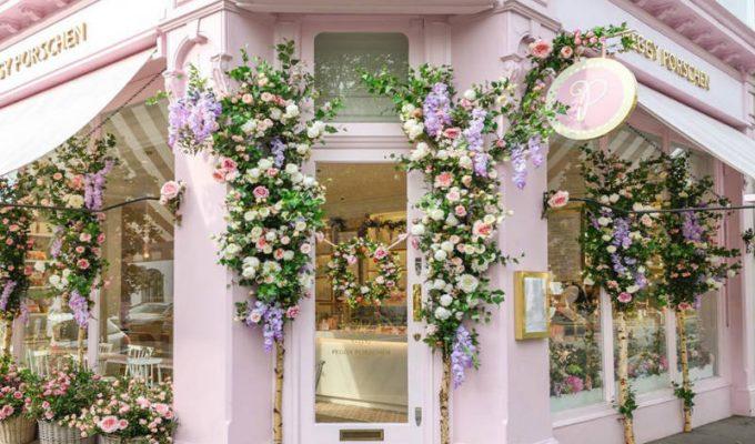 Peggy Porschen Cakes - Το πιο παραμυθένιο bistro βρίσκεται στο Λονδίνο