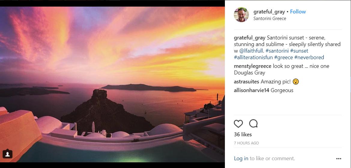Σαντορίνη: Οι φωτογραφίες του Instagram… που θα σας συνεπάρουν! (photos)