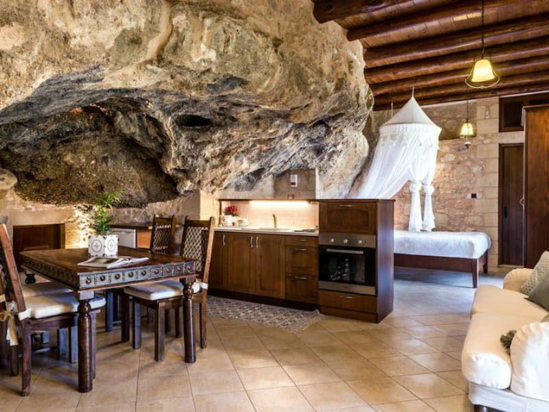 Airbnb σπίτι σπηλιά, Κρήτη
