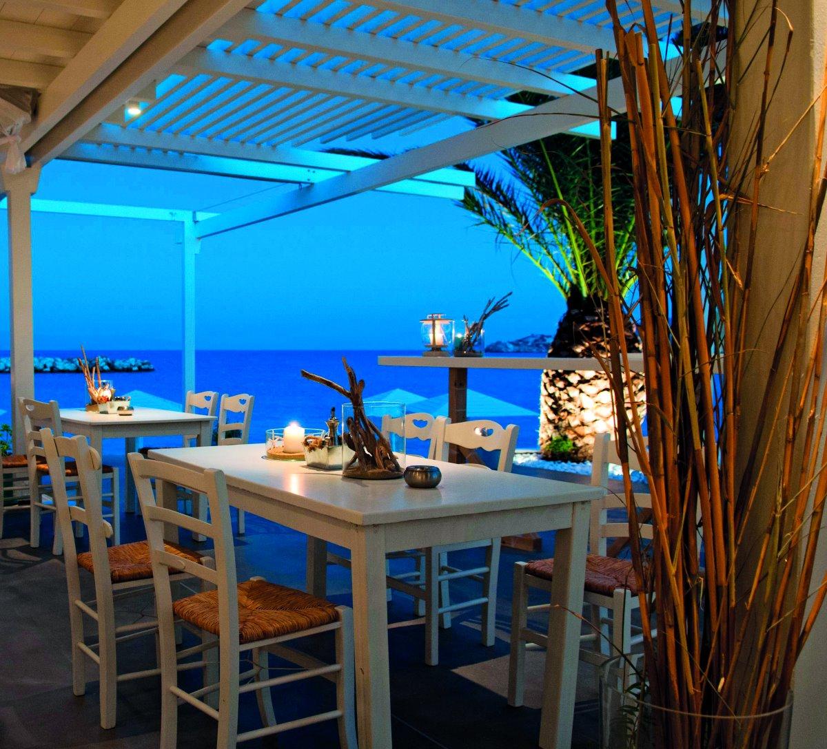 Aspro Seaside restaurant, Αμπελάς, Πάρος