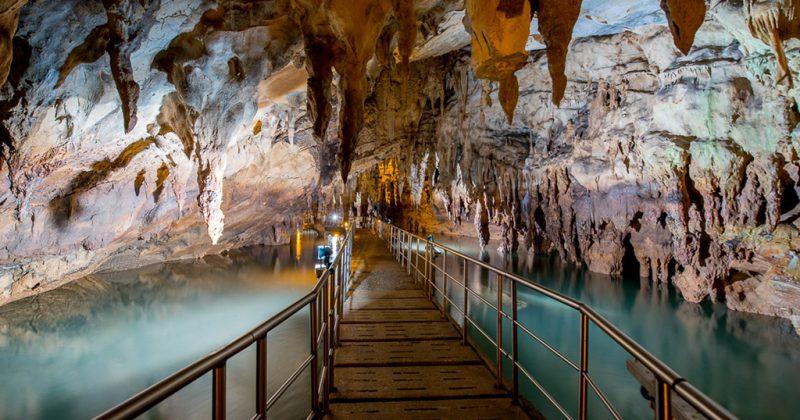 Σπήλαιο Αγγίτη, Δράμα