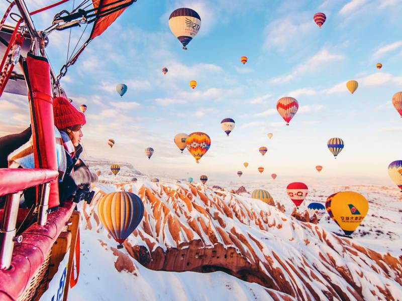 Φωτογραφίες που θα σε κάνουν να θες να πας στην Καππαδοκία… τώρα!