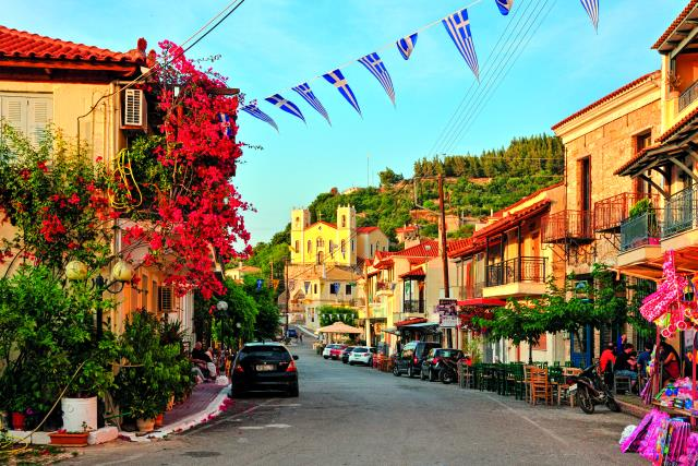 Κυπαρισσία - Παραθαλάσσια χωριά Πελοπόννησος