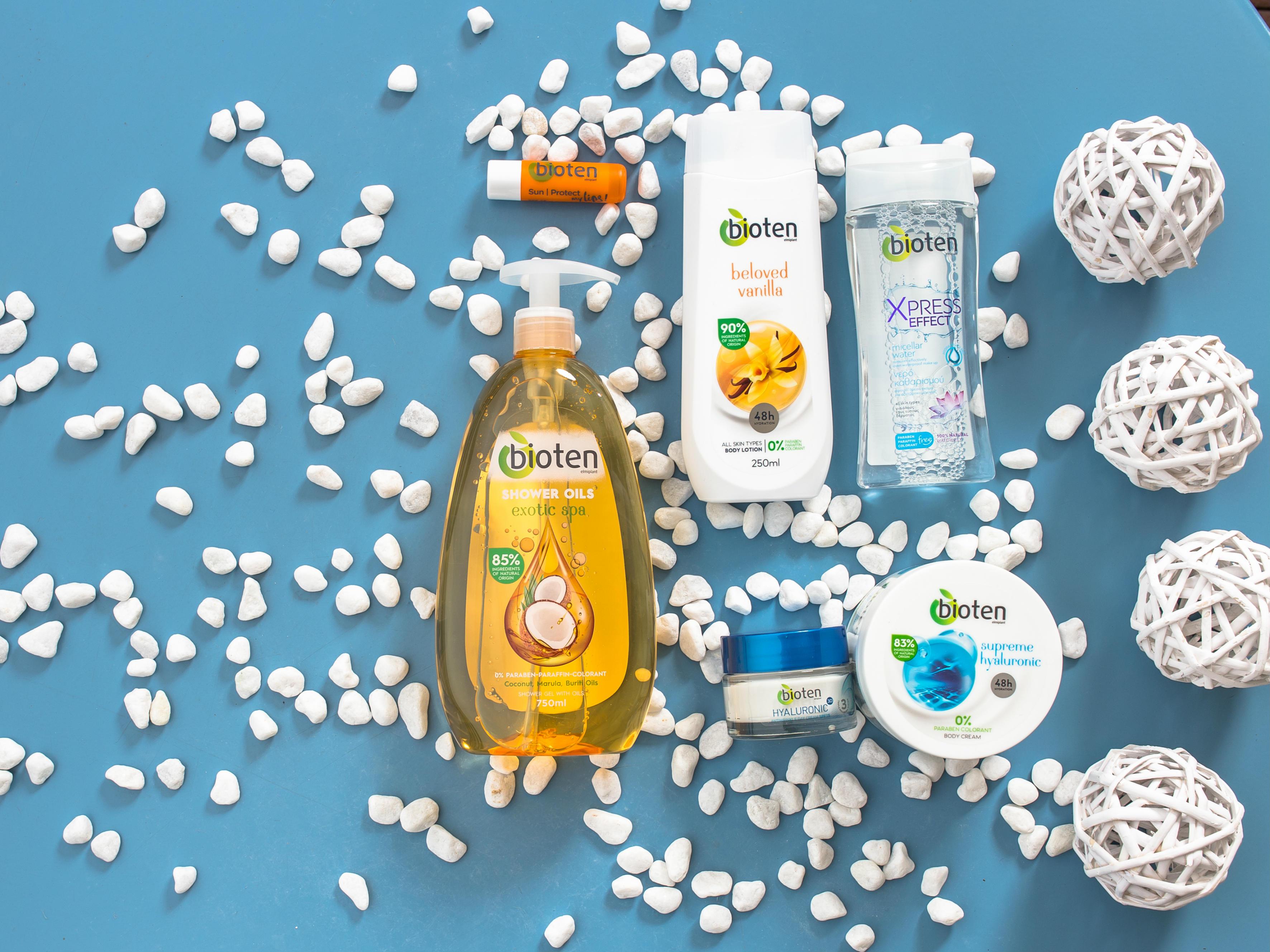 Κερδίστε τα 6 υπέροχα προϊόντα της Bioten για τέλεια επιδερμίδα!