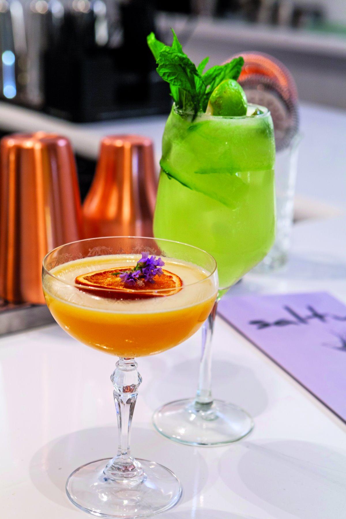 Απολαυστικά cocktails στο Salty