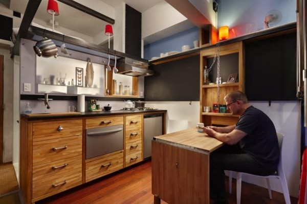 To μικροσκοπικό σπίτι 16 τ.μ που καλύπτει όλες σου τις ανάγκες και με το παραπάνω! (photos)