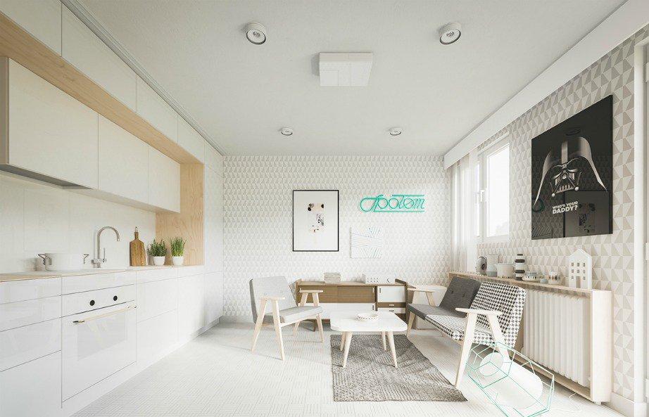 Ένα διαμέρισμα 20 τ.μ που θα σας αφήσει άφωνους με την εκπληκτική του διακόσμηση! (photos)