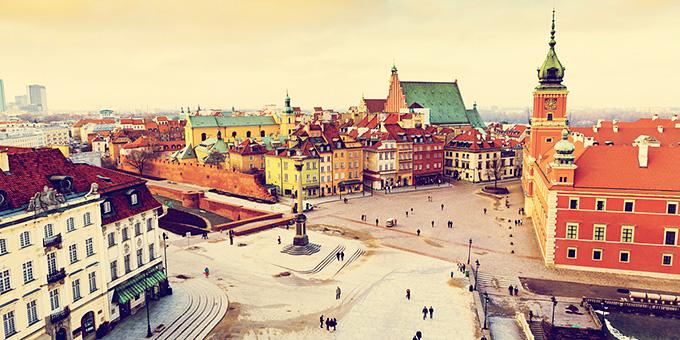 Μια μέρα στη Βαρσοβία