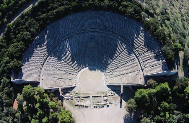 Αρχαίο Θέατρο Επιδαύρου - μνημεία Ελλάδας