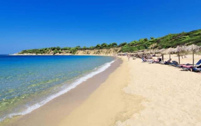 Ασέληνος παραλία Σκιάθος
