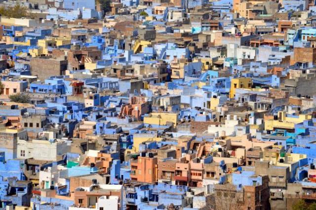 Μπλε πόλη Ινδία