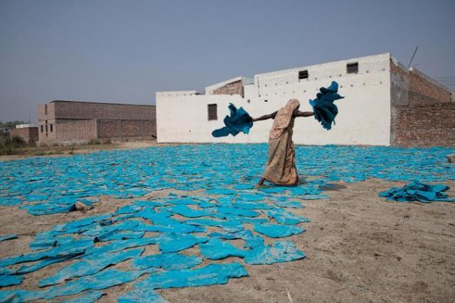 Στέγνωμα δερμάτων στο Μπαγκλαντές