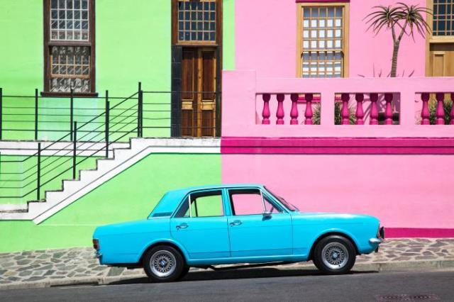 Οι πολύχρωμοι δρόμοι του Bo Kaap, Νότια Αφρική
