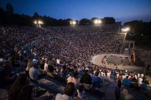 Φεστιβάλ Επιδαύρου - Αρχαίο Θέατρο Επιδαύρου