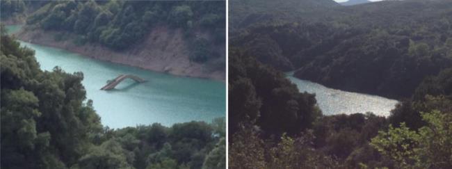 Γεφύρι του Μανώλη, λίμνη Κρεμαστών