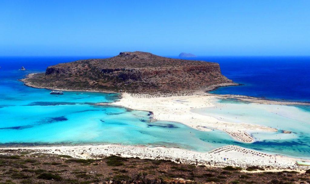 Μπάλος παραλία Κρήτη