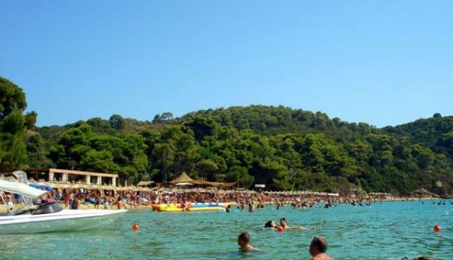 Μπανάνα παραλία Σκιάθος