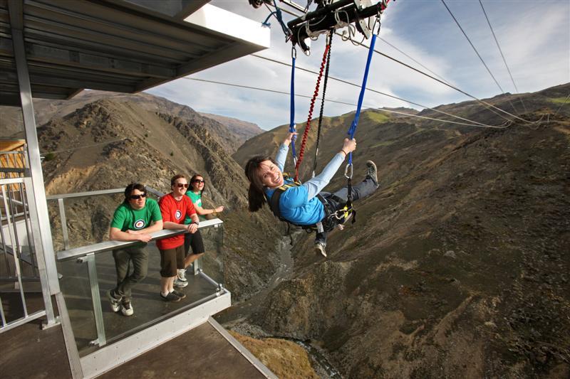 Φοβάστε τα ύψη; Δείτε τη μεγαλύτερη κούνια του κόσμου και θα καταλάβετε....