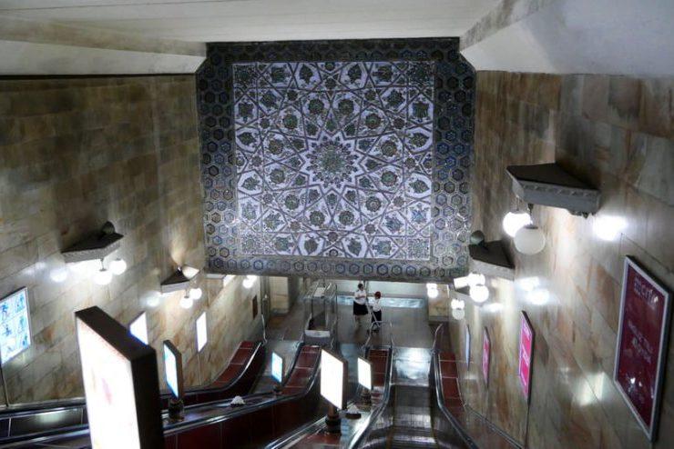Το καλά «κρυμένο» μετρό του Ουζμπεκιστάν αποκαλύφθηκε