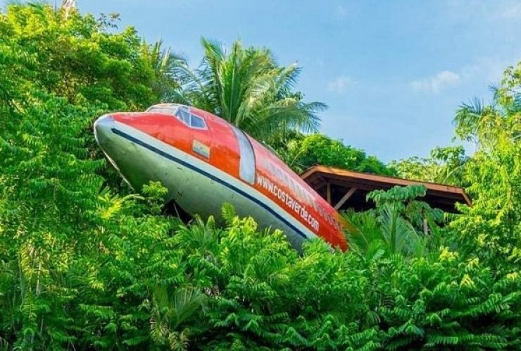 Ξενοδοχεία μέσα σε αεροπλάνα και ελικόπτερα