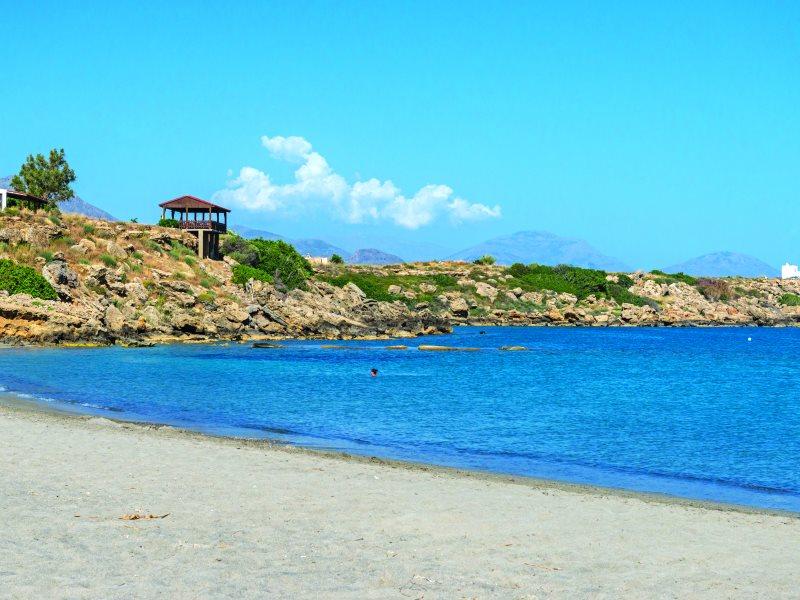 Φραγκοκάστελλο παραλία