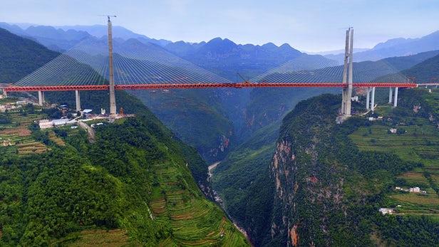 Και όμως! Αυτή είναι η ψηλότερη γέφυρα του πλανήτη- Δείτε που βρίσκεται