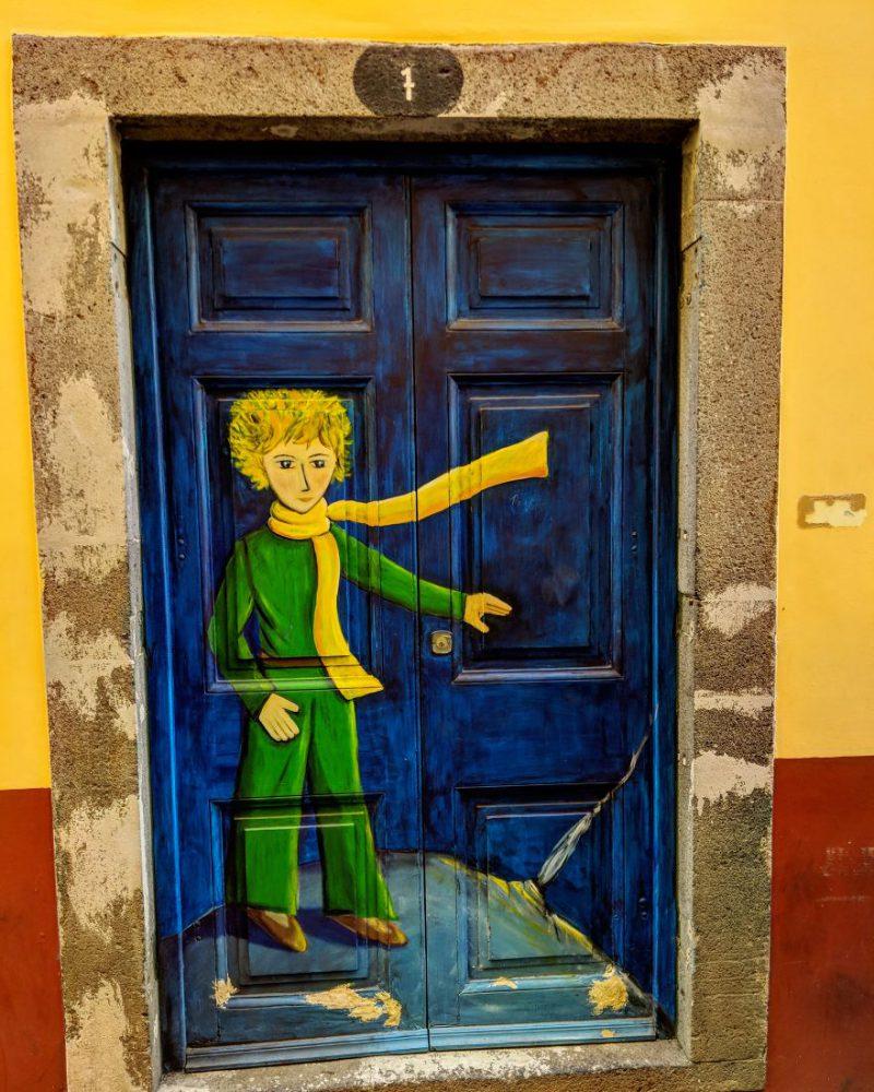 Έντυπωσιακές πόρτες, έργα-τέχνης στη Μαδέρα