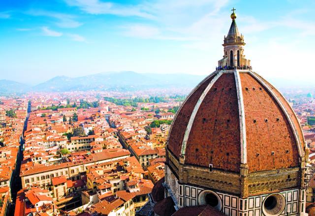 Duomo Φλωρεντία - θέα