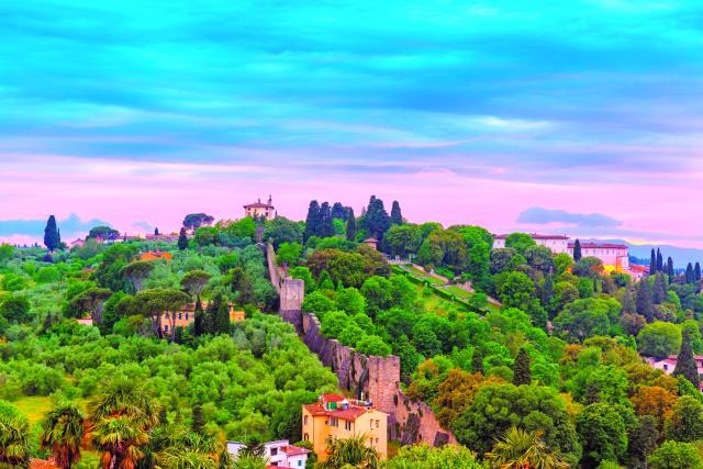 Φλωρεντία θέα, Ιταλία