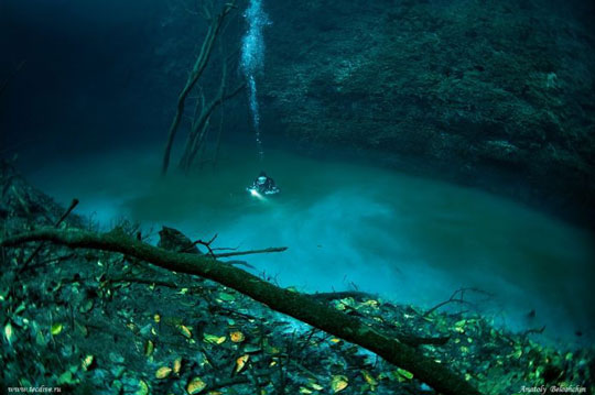 Υποθαλάσσιο ποτάμι!- Mια εικόνα ΦΟΒΕΡΗ που ΚΟΒΕΙ την ΑΝΑΣΑ!!!