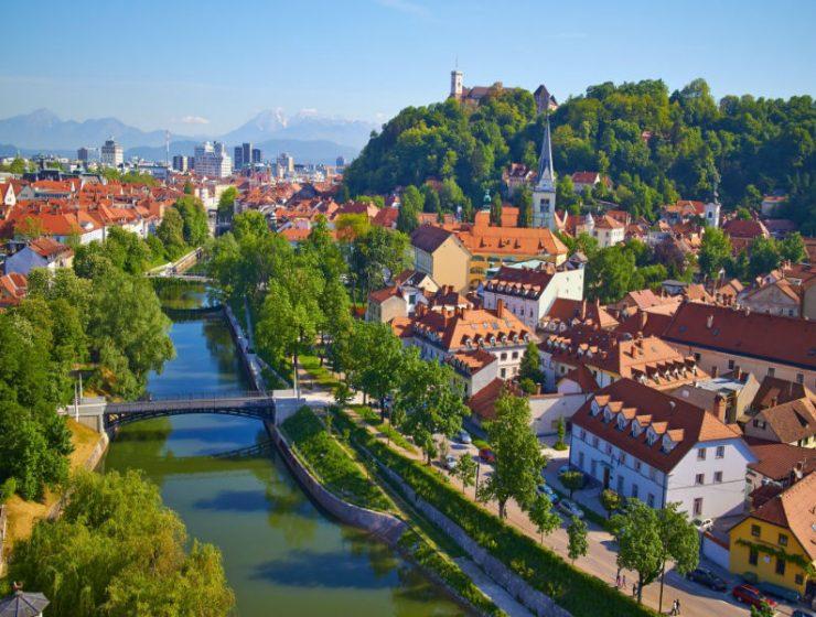 Λιουµπλιάνα: Mια πόλη «όνειρο»