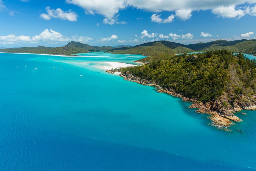 Νησιά Whitsunday, Queensland: Ένα μοναδικό θέαμα