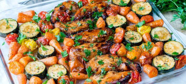 Πεντανόστιμη Συνταγή: Κοτόπουλο με λαχανικά