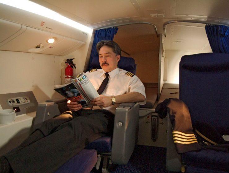 Και όμως.... Οι πιλότοι κοιμούνται εν ώρα πτήσης- Δείτε τα κρυφά τους δωμάτια