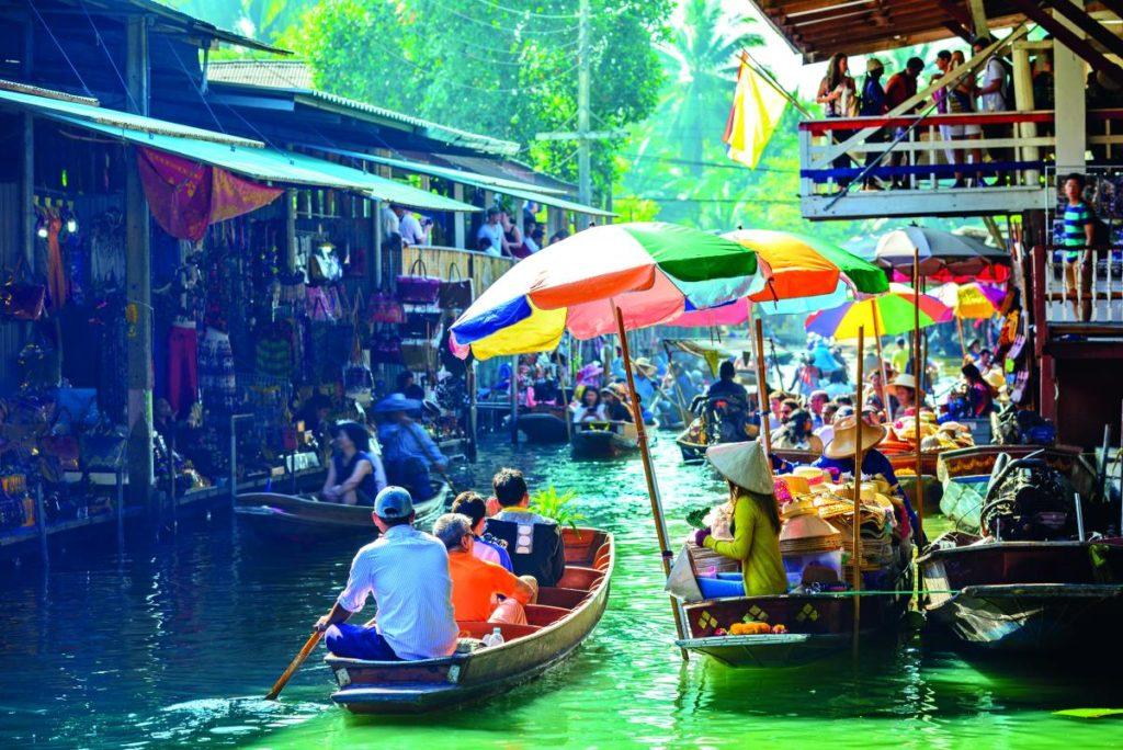 Πλωτές αγορές Ταϊλάνδης