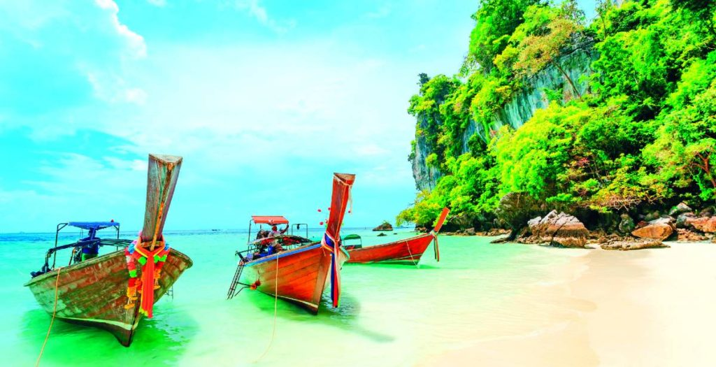 Πουκέτ Ταίλάνδη, βάρκες θάλασσα