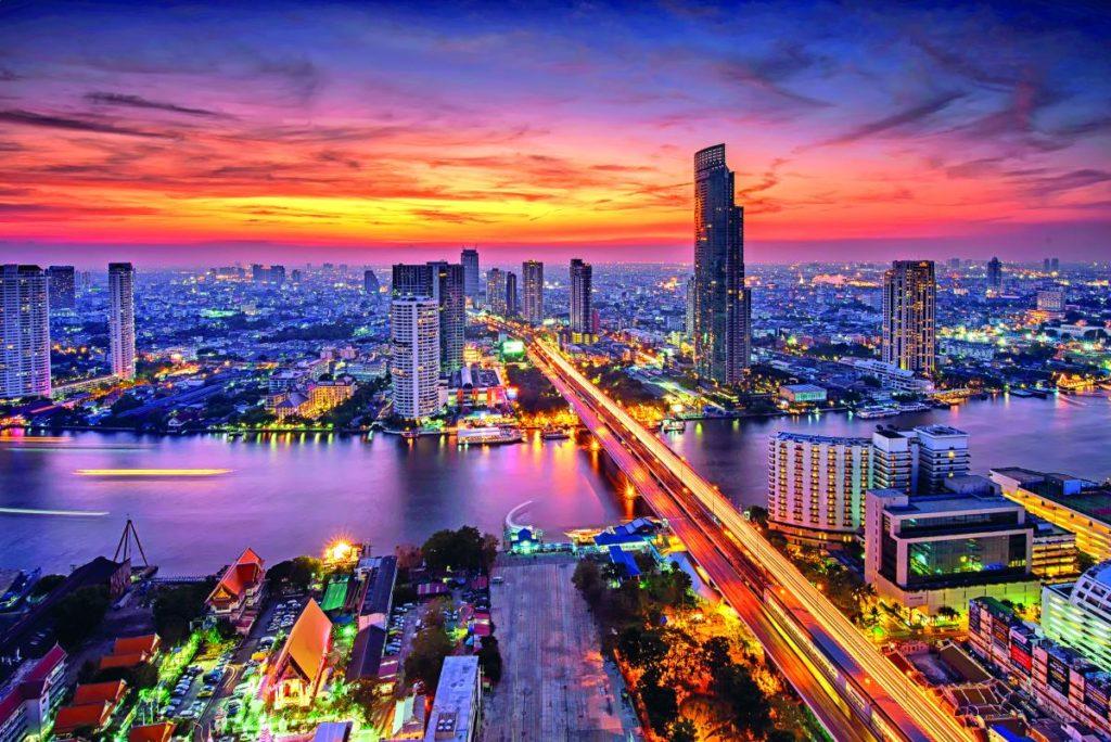 Μπανγκόκ, πόλη Ταϊλάνδη