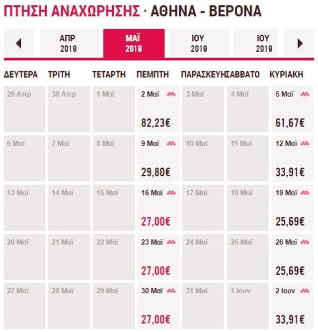 Volotea: Πετάμε στην πόλη του Ρωμαίου και της Ιουλιέτας από 27€!