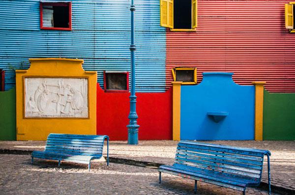 Αυτή είναι, η πιο «χρωματιστή» γειτονιά του πλανήτη
