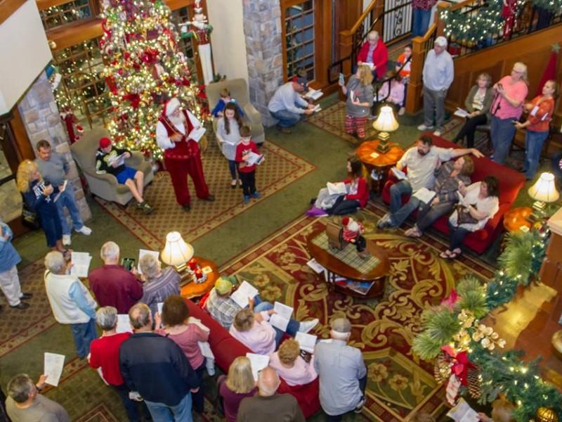 Αυτό το ξενοδοχείο έχει πάντα Χριστούγεννα
