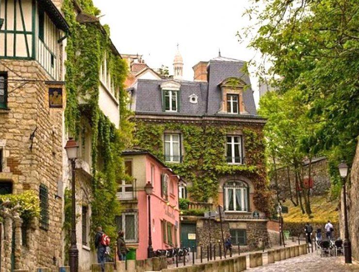 Η μποέμ γωνιά του Παρισιού