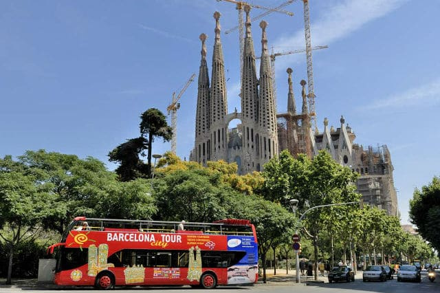hop on hop off Βαρκελώνη