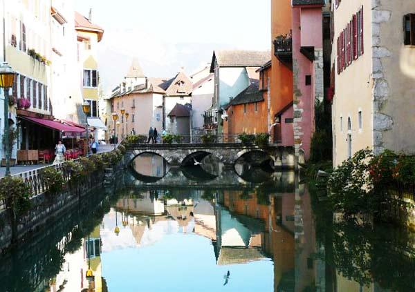 H πόλη Ανσί - Το στολίδι της Γαλλίας